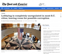 Charleston Post Courier-Carla Miller quoted...