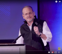Larry Lessign speaking in the Plenary Session at #UNRIG Summit in Feb 2018